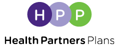Health Partners Plans logo print