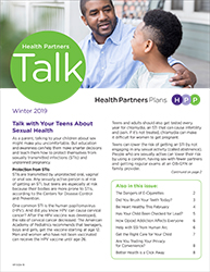Health Partners Talk Winter 2019