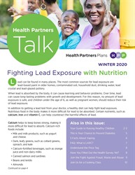 Health Partners Talk Winter 2020