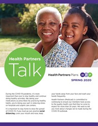 Health Partners Talk Spring2020