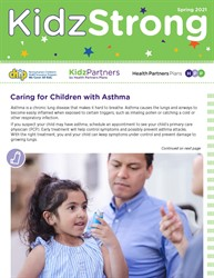 KidzStrong Spring Issue